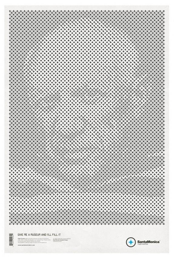 Star Grid Posters #mark #picasso #branding #print #design #pablo #grid #posters #poster #santamonica #star #brooks