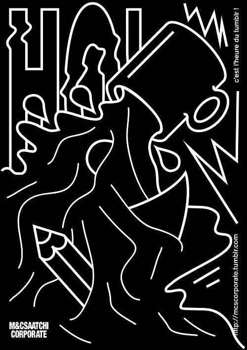 M&C Saatchi Corporate #illustration #poster