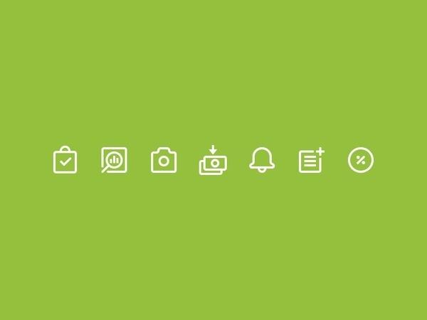 Shopify Icons #pictogram #icon #design #picto #symbol