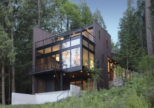 Flowing Lake Residence #architecture #house