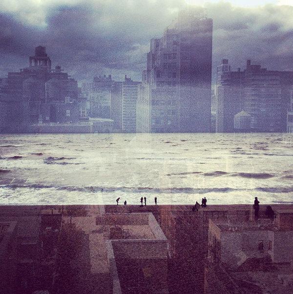 CJWHO ™ (Double Exposures Blur Lines Between New York and...) #london #design #zalcman #exposure #photography #art #york #daniella #new