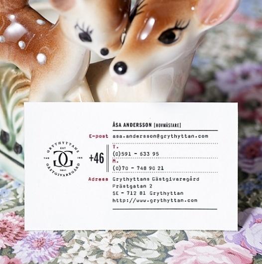 Grythyttan : Lovely Stationery . Curating the very best of stationery design #sweden #planeta #design #grythyttan