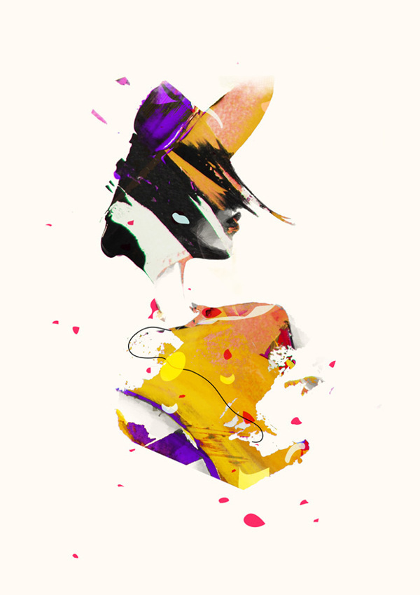 'OVEREXPOSED' Illustrations 2012 #fashion #illustration