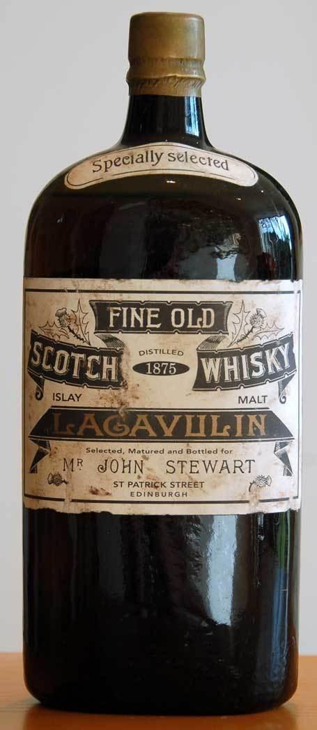 Lagavulin 1875 45KB #whiskey #scotch #victorian #bottle #vintage