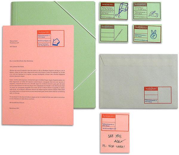 marcus kraft: bastelraum 6001 #stamp #rubber #print #customizable #stationery