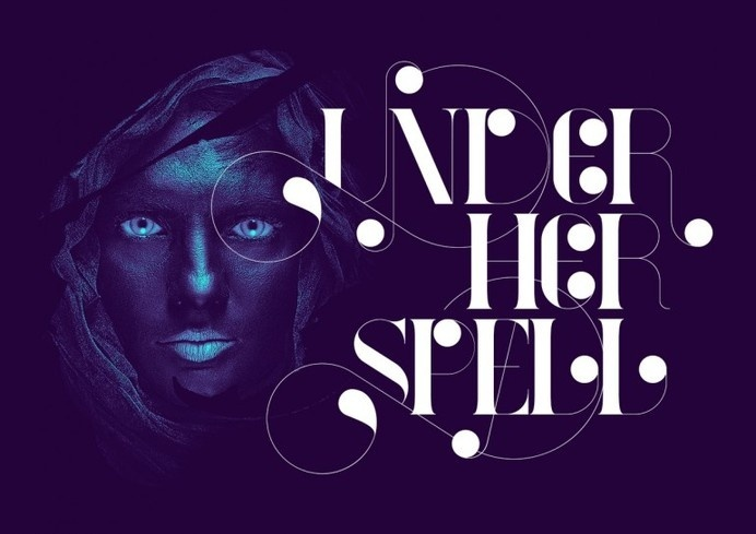 Under Her Spell #calligraphy #lettering #script #typography