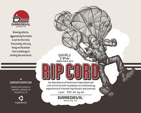 Daredevil Brewing Label #packaging #beer #label