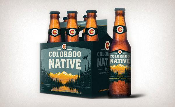 Colorado Native Lager #packaging #beer