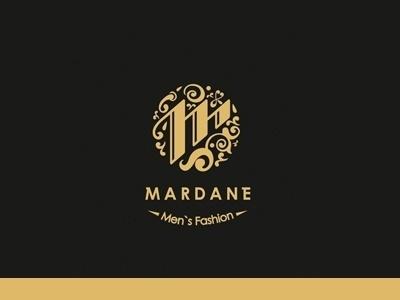 Dribbble - Mardane by Hossein Yektapour #fashion #logo #branding