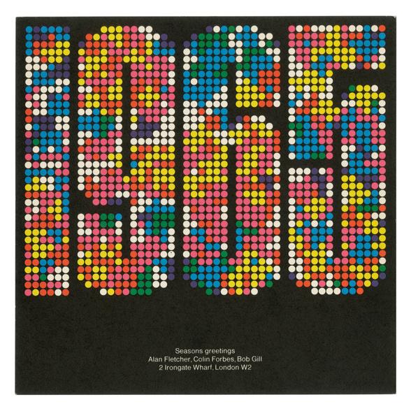 Seasons greetings: 1965 | Alan Fletcher #cover