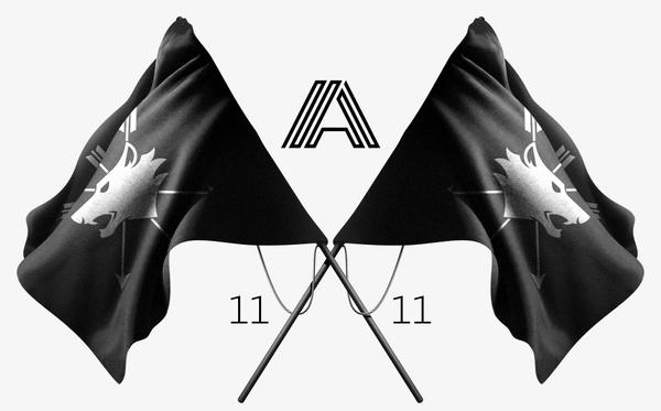 Projetos / ALAMO Firmorama #clothing #flag #alamo #11 #illustration #wolf #firmorama
