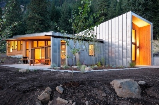 WANKEN - The Blog of Shelby White » Miners Refuge by Johnston Architects #steel #house #architects #architecture #johnston