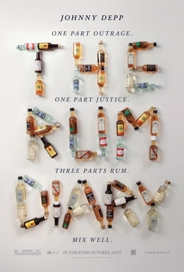 the-rum-diary-poster-upcoming-movies-25315914-940-1391.jpg 940×1,391 pixels #movie #the #diary #poster #rum #typography