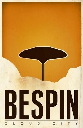 SR Pick: Cool Minimalist Star Wars Travel Posters - Screen Rant