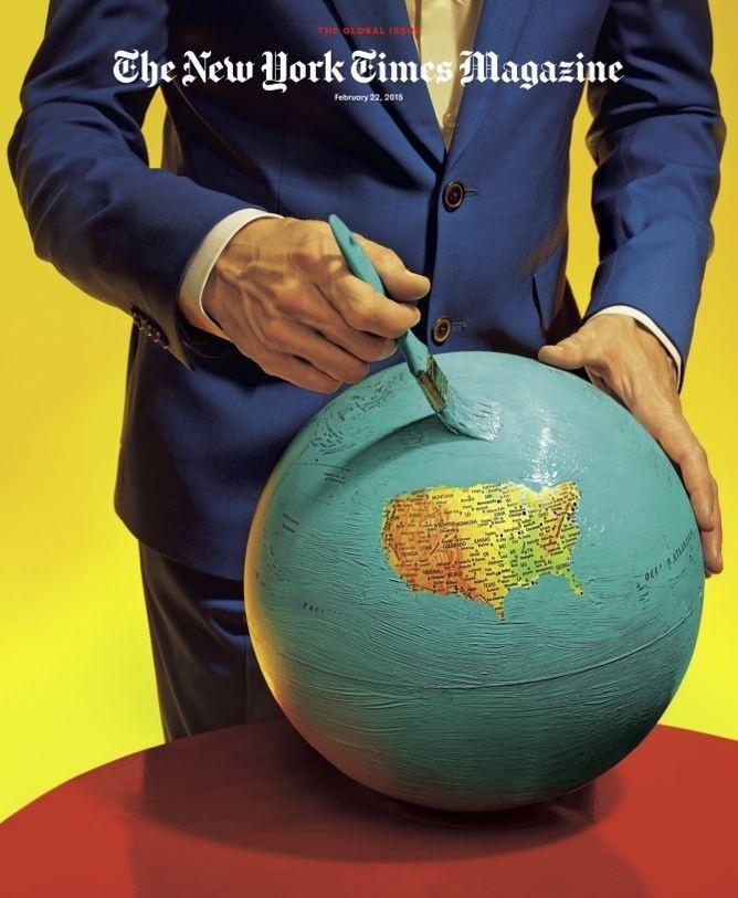 New York Times Magazine Redesign 2015 #cover #editorial #magazine