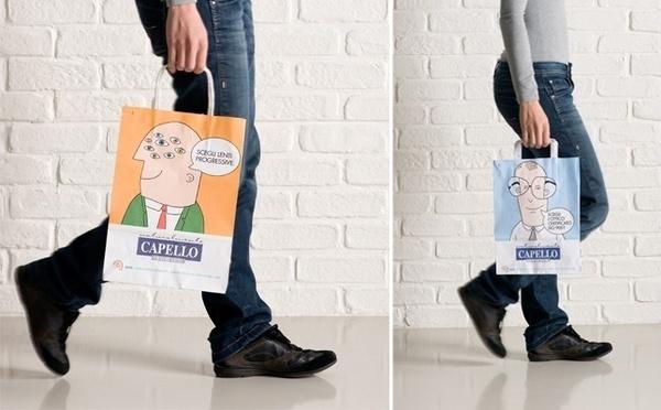 Shopper - Illustration by www.o-zone.it #vectors #illustration #vector #illustrated