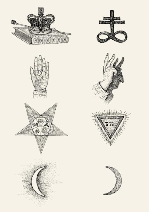Bradley Jay #satanic #symbols