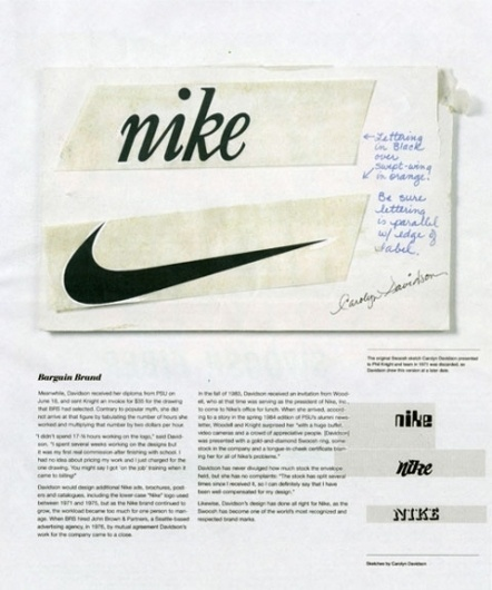 Logo - NIKE, déjà 40 ans que la virgule pose son style #years #nike #40 #logo #strecks