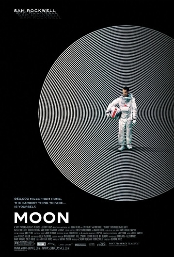 Moon: Extra Large Movie Poster Image - Internet Movie Poster Awards Gallery #astronaut #circles #space #posters #poster #movies #moon