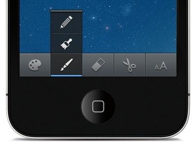 Push-up-menu #iphone #interface