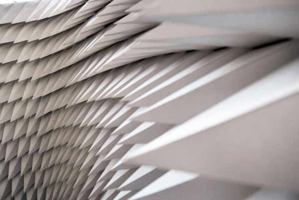 The Ridiculously Photogenic Project on Behance #modeling #generative #paper #installation