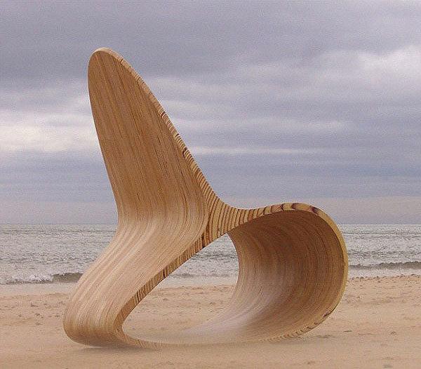 Contemporary birch furniture
