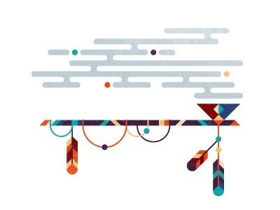 Pipe by Elena Lazutina #illustration #colors