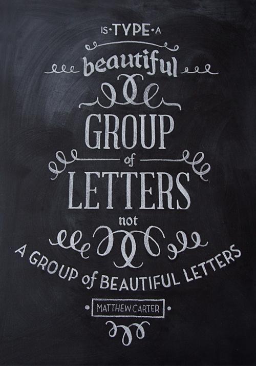 betype:Chalk Typography #script #hand #chalk #typography