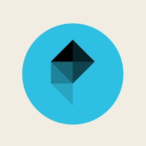 polygon-twitter-icon.png (500×500) #mark #polygon #geometric #shape #logo #facet
