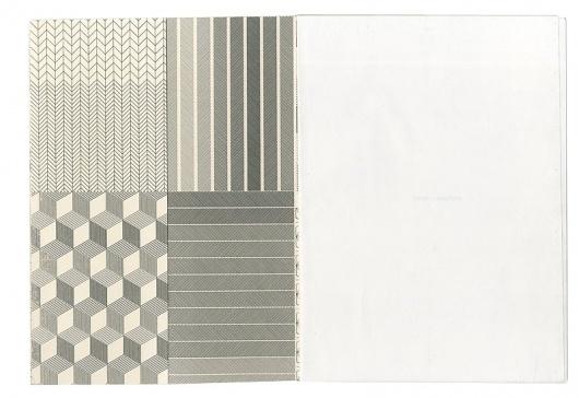 minchaya chayosumrit / book I #pattern #lines #book #geometric #booklet #brochure