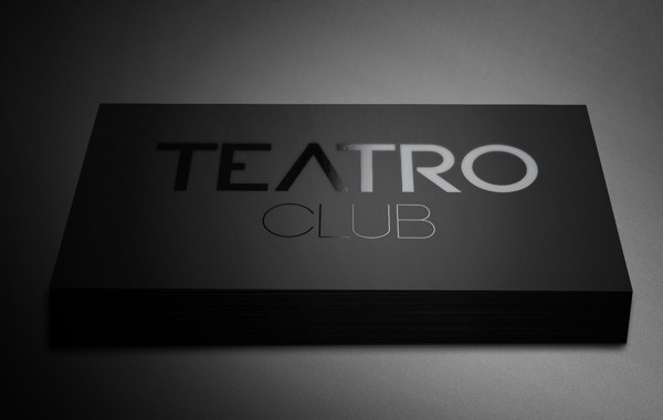 TEATRO CLUB #logotype #branding #business #stationary #card #design #graphic #brand #identity #logo #cards