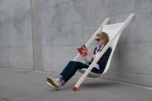 BERNHARD | BURKARD product design #deck #chair #design #product #curt
