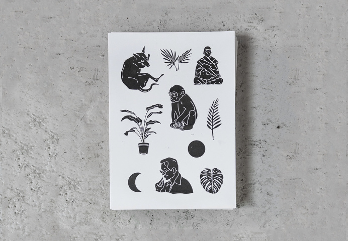 illustration plants animals