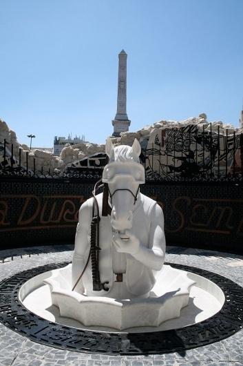 FAILE Temple #temple #horse #arte #portugal #faile #art #lisboa #scuba