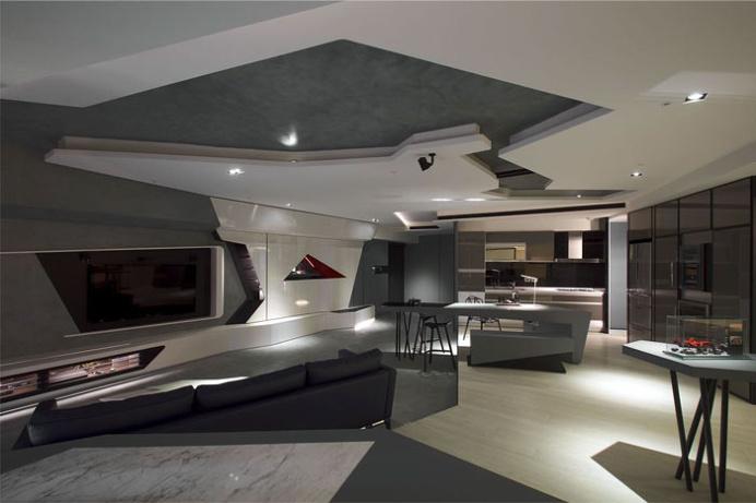 Stunning Modern Bachelor Apartment - #architecture, #home, #decor, #interior, #homedecor
