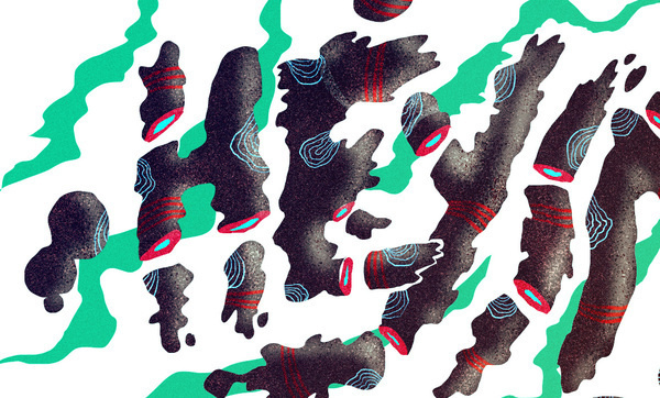 hey indie wallpapper on the Behance Network #cut #patterns #smoke #off