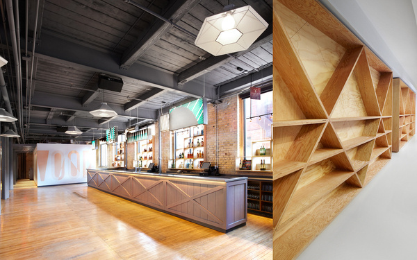 Beautiful Interior Design Works by Jessica Nakanishi #wood #bar #black #grey #window