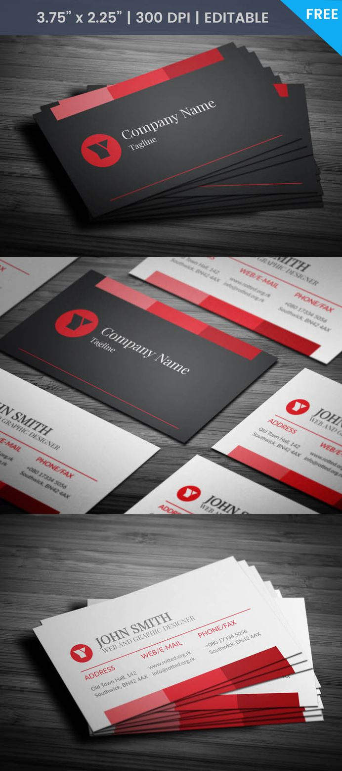 Free Event Specialist Business Card Template