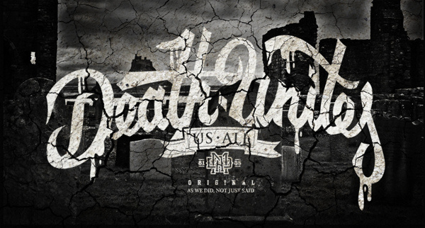 Death Unties Us All on Behance #lettering #death