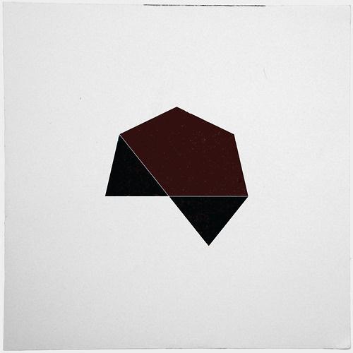 #215 Dark star – A new minimal geometric composition each day