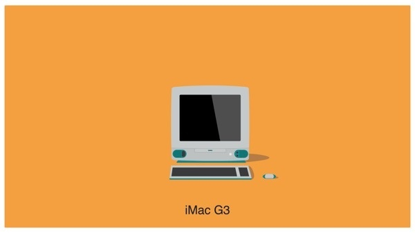 Illustrations Of Every Single Macintosh Computer Ever Created DesignTAXI.com #apple #minimalistic #illustration #imac #mac