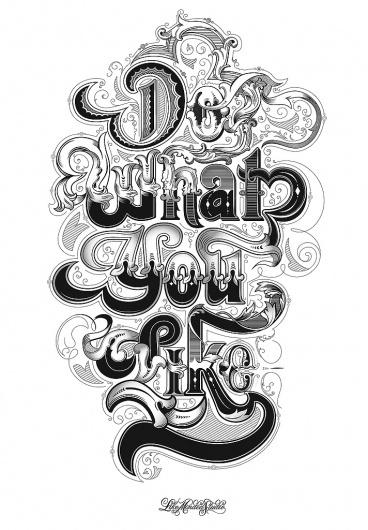 CUSTOM LETTERS, BEST OF 2010, DAY 1 — LetterCult #illustration #typography