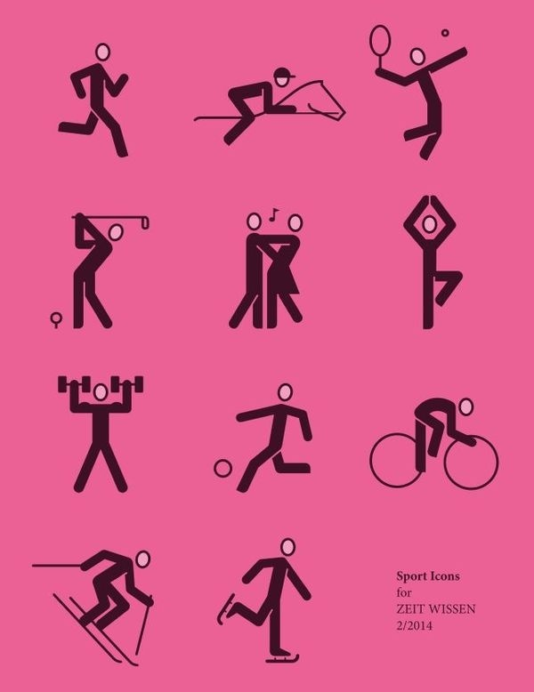 United States of the Art - Icon Design #pictogram #iconography #icon #sign #picto #symbol