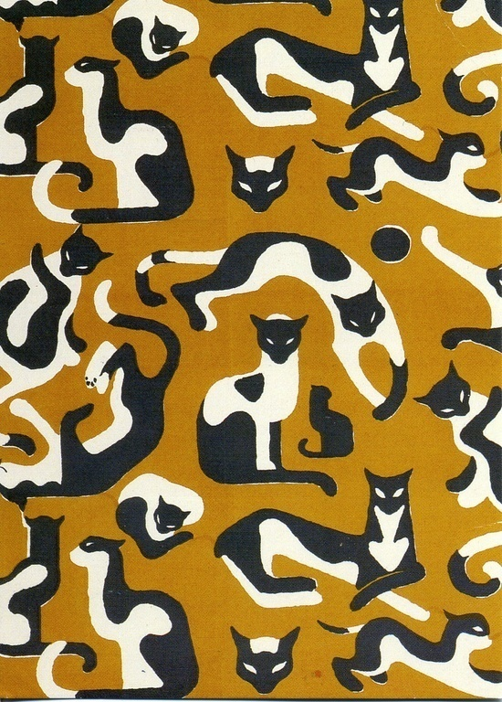 #illustration #pattern #cat
