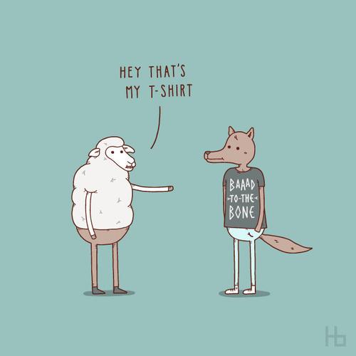 Funny Illustrations by Jaco Haasbroek #cute #illustration #funny