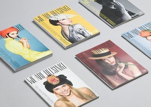 Tsto | We Are Helsinki #cover #masthead #magazine #typography