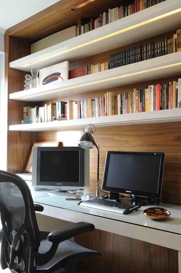 GUTO REQUENA modern interior design #built #office #home #desk #ins #workspace