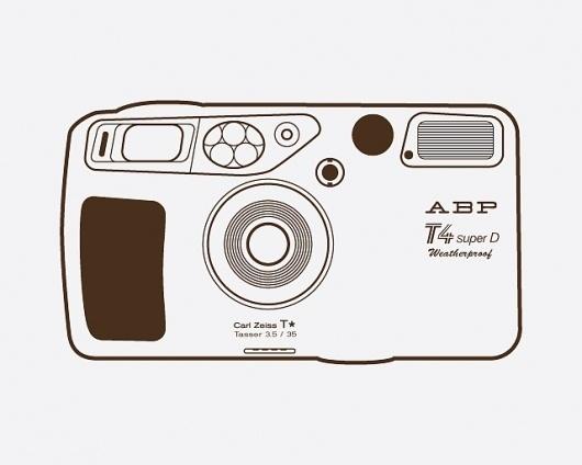 yashica_6.jpg 640×512 pixels #camera #illustration #abp