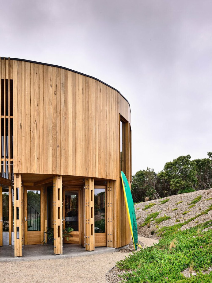 St Andrews Beach House / Austin Maynard Architects