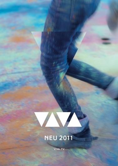 VIVA Rebrand 2011 #photography #identity #branding